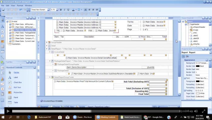 Video Autocount Sst Invoice Customization Idynamics Software